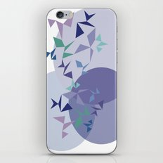 shapes on shapes iPhone Skin