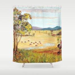 Homeward Bound, Australia              by    Kay Lipton Shower Curtain