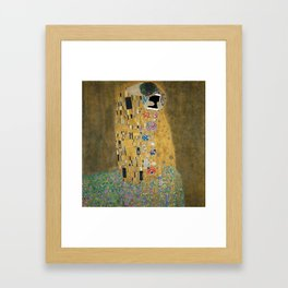 Kiss (the new one) Framed Art Print