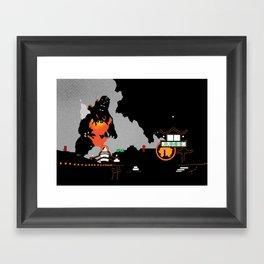 Godzilla vs. Destoroyah Framed Art Print