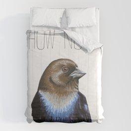 How Now Brown-headed Cowbird Comforters