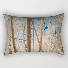 Mali in nave Carolinsiel Rectangular Pillow