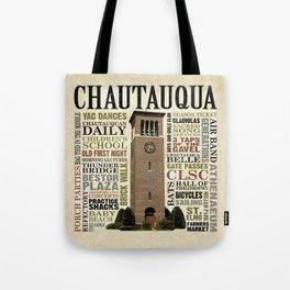 CHQ Words Pillow Tote Bag