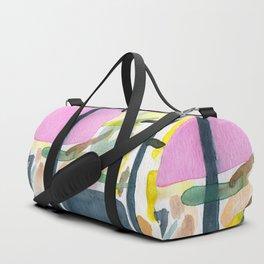 Abstract watercolor still life #2 Duffle Bag