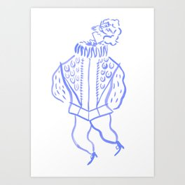 Sir Nicholas de Mimsy-Porpington Art Print