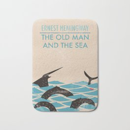 The Old Man and the Sea Bath Mat
