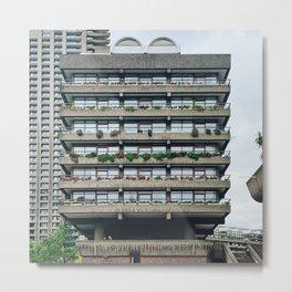 Barbican Estate Metal Print