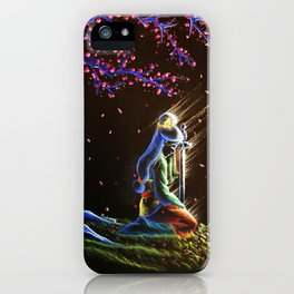 True To Your Heart iPhone Case