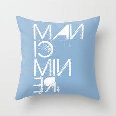 Manic Miner Throw Pillow