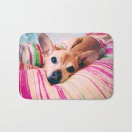 Dobby Dog Bath Mat