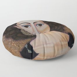Amalia Rodrigues – Music born in the soul Floor Pillow
