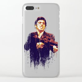 Scarface Clear iPhone Case