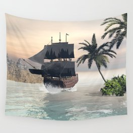 Fantastic seascape Wall Tapestry
