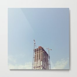 #322 A time to tear down and a time to build up Metal Print