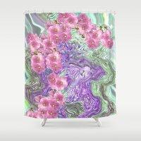 romantic Shower Curtains featuring Romantic by Vargamari