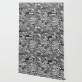 U.S. Flag: Urban Camouflage Wallpaper