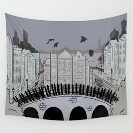 Fictional Places: Crows Wall Tapestry