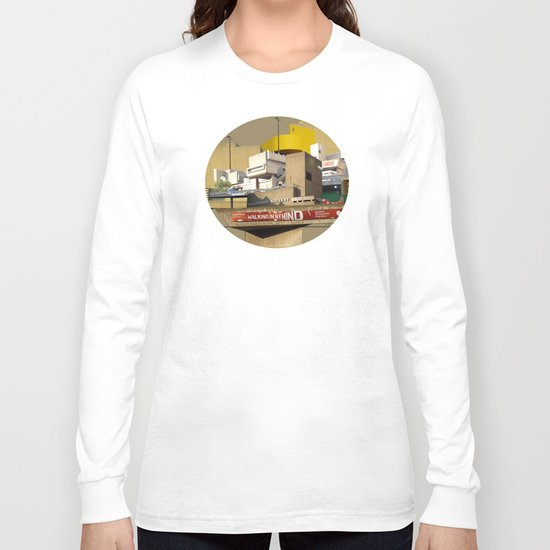 Hayward Gallery Collage Long Sleeve T-shirt