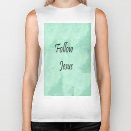 Follow Jesus Biker Tank