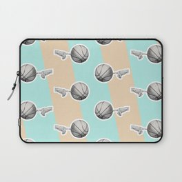 Spin a basketball Laptop Sleeve