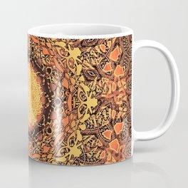 Marigold Mandala Coffee Mug