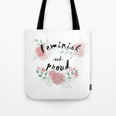 Feminist & Proud Tote Bag
