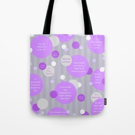 Mind the Branches Tote Bag