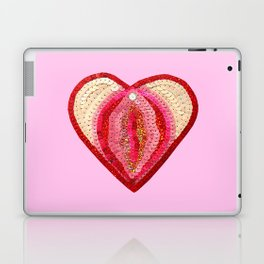 Sequin Vagina Laptop & iPad Skin