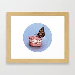Teeth Study Framed Art Print