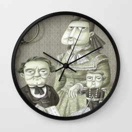 Miss Annie, P.T. and Commodore Nutt Wall Clock