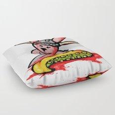 Bunny the Krakenslayer Floor Pillow