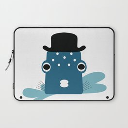 Top Hat Fish Laptop Sleeve