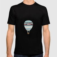 Candy Balloon Black MEDIUM Mens Fitted Tee
