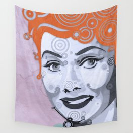 Loving Lucy Wall Tapestry