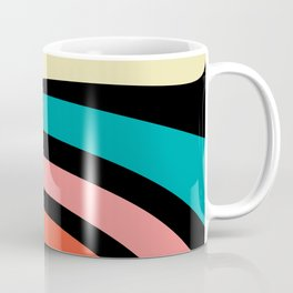 Retro, Colorful, Abstract, Rainbow, Pattern Coffee Mug