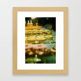 i like donut Framed Art Print