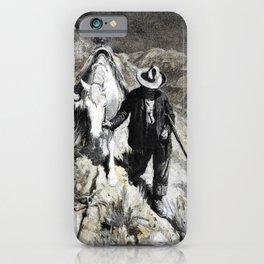 Follerin' the Tracks - William Herbert Dunton iPhone Case