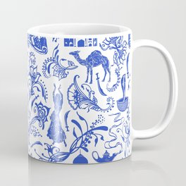 Arabian Nights // China Blue Coffee Mug
