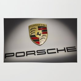 Sport Car Emblem Rug