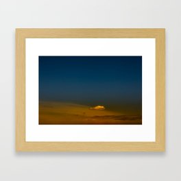 Gloomy Sky 0017 Framed Art Print
