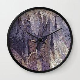 Pinnacles Wall Clock