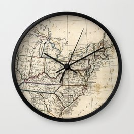 United States - 1830 Wall Clock