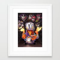 grim fandango Framed Art Prints featuring Grim Fandango by SIINS