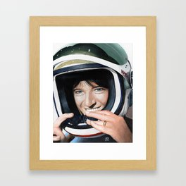 Sally Ride Framed Art Print