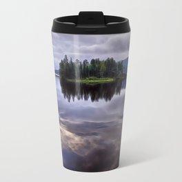Lake of Two Rivers Travel Mug