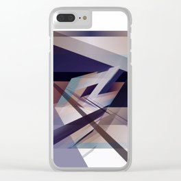 Abstract 2018 010 Clear iPhone Case