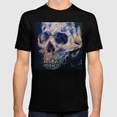 Ultraviolet Skull Black SMALL Mens Fitted Tee