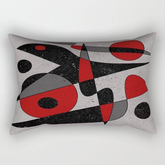 Abstract #110 Rectangular Pillow
