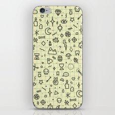 Doodles Pattern iPhone Skin