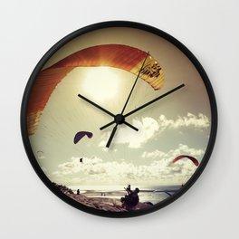 Paragliding Wall Clock